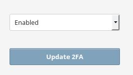 2FA Enable