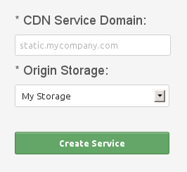 Create CDN Static Push