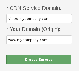 Create CDN Video