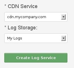 Create logs service