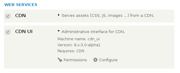 Drupal 8 enable CDN