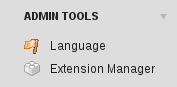Typo3 Extension Manager